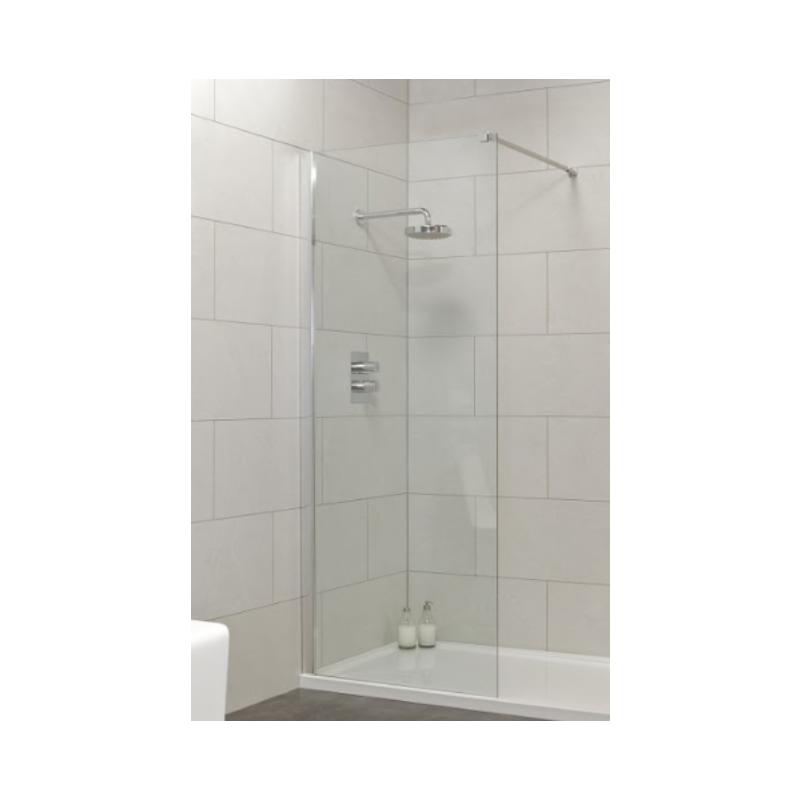 Urban 900mm Wetroom Panel 875-900