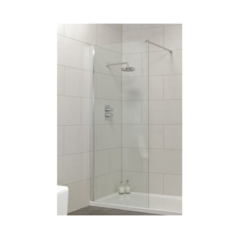 Urban 800mm Wetroom Panel 775-800