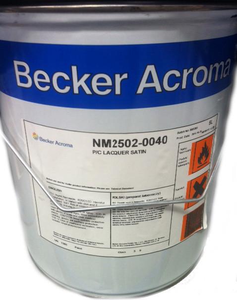 Becker Acroma P/C Lacquer Satin 0040 5L