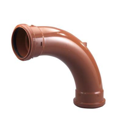 Sewer Bend 30 Degree Single Socket 110mm