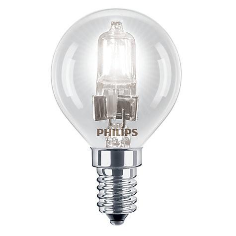 Philips Eco30 42W SES Golf Ball Bulb