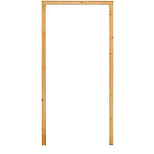 150 x 50mm Red Deal Door Frame Rebated Pks - rebated for 15mm Intum Strip  (1/2 Hr Fire) (2/2.1 1/0.9)