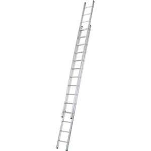 Aluminium Double Extension Ladder (4.09m - 7.15m)
