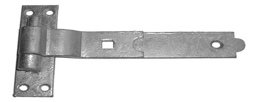 Hook & Band Hinge 350mm Galvanised (pair)