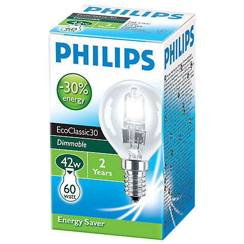 Philips Eco30 42W BC Golf Ball Bulb