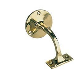 Stair Handrail Bracket Brass