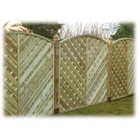 Inishowen Fence Panel 1800 x 1800mm Treated (Green)