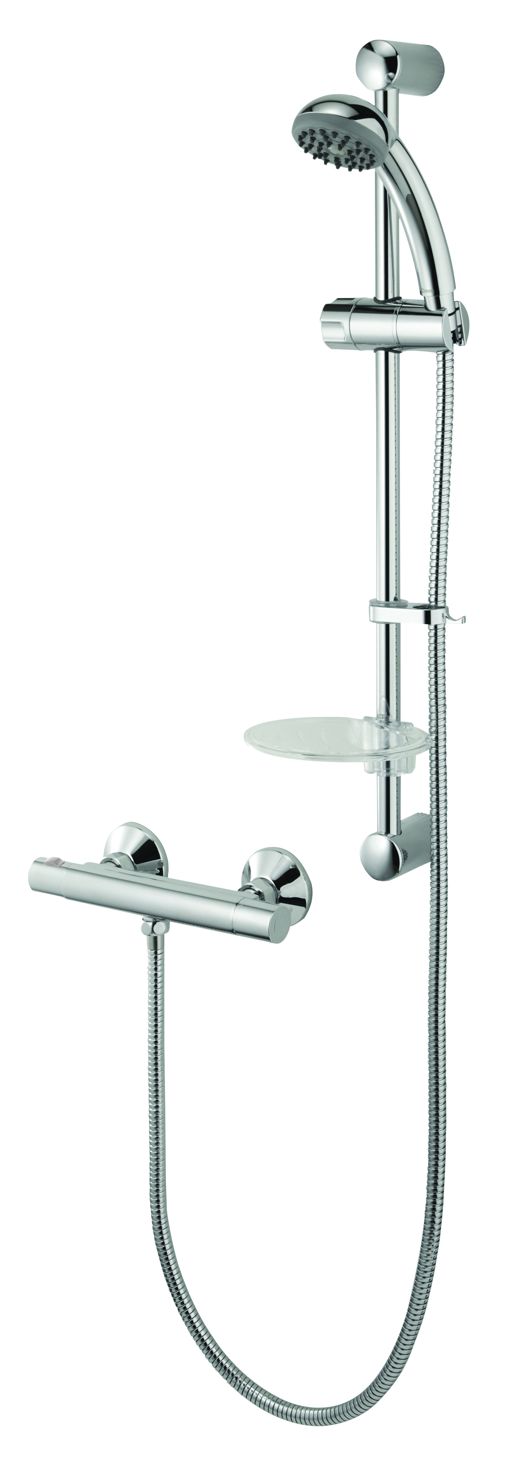 Kestrel Cooltouch Thermo Bar Shower Inc Slide Rail Kit