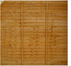 Fence Panel 1800 x 1500mm Treated (Brown)