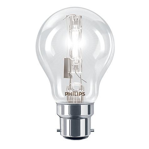 Philips Eco30 42W BC Classic Bulb Boxed