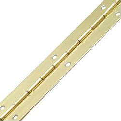 Piano Hinge 1.8mtx30mm Brass (single)