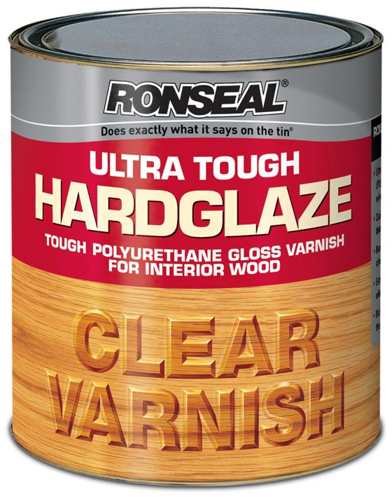 Ronseal Ultratough Hardglaze Varnish 250ml