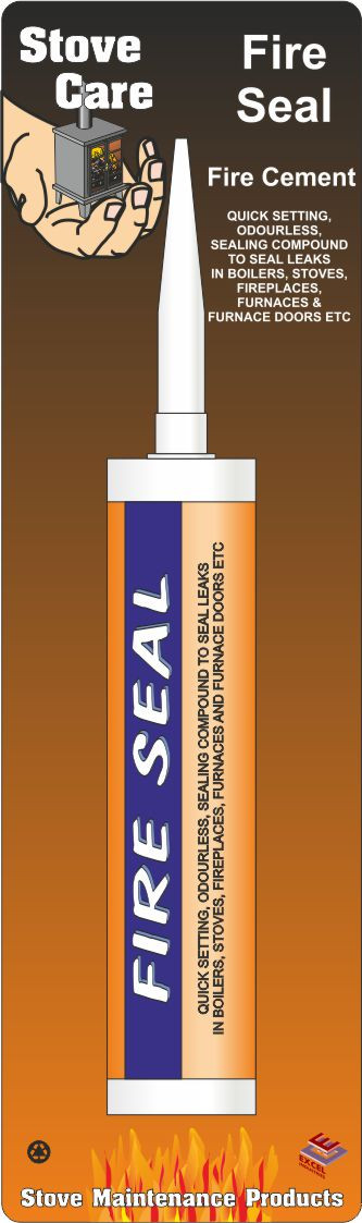 Stove Care Fire Seal Fire Cement 310ml