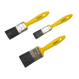 Stanley 3-Piece Max Finish Brush Set