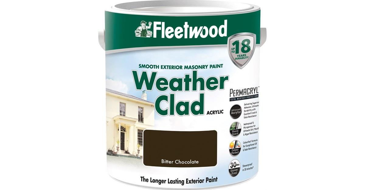 Weatherclad Bitter Chocolate 2.5L