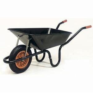 Wheelbarrow 85 Litres Black