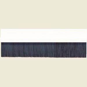 Brush Strip 914mm PVC White