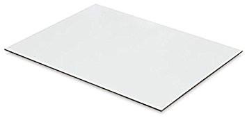 2440 x 1220 x 3.2mm White Hardboard