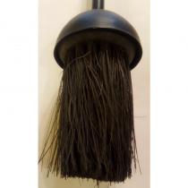 """18"""" All Black Brush"""
