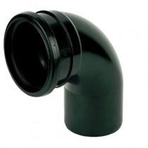 110mm Black Soil Access Bend S/S 90 Degree