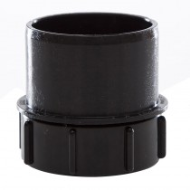 110mm Black Soil PE Access Plug With Screwed Access