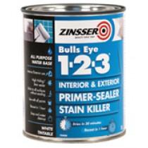 Zinsser Bulls Eye 1-2-3 Primer Sealer 1L