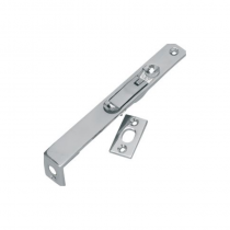 Flush Bolt 152x19mm Nickel Plated (Chrome Effect)
