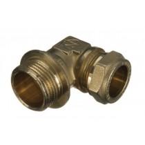 Compression Elbow 10mm x 10 Bsp M/I 616