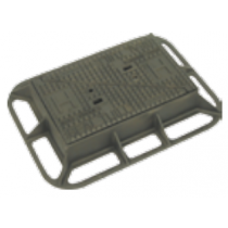 Fire Hydrant Cover & Frame D400 445mm
