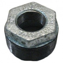 "Galvanised Bushing 1/2"" x 3/8"""