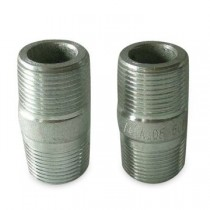 "Galvanised Hex Nipple 3/4""x1/2"""