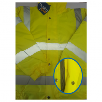 Hi Viz Bomber Jacket Medium