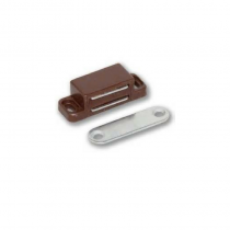 Magnetic Catch 102P Small Brown