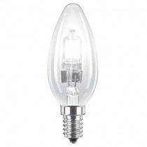 Philips Eco30 42W SES Candle Bulb Blister