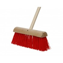 Yard Brush & Handle No.8 Red