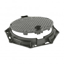 D400 Round Manhole Cover & Round Frame 600mm