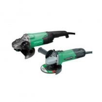 Hitachi Angle Grinder Twin Pack 110v  (230mm +115mm)