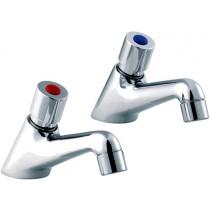 Non Concusive Basin Taps (Pair)