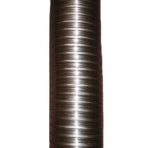 6m 125mm 316/316 Twin Wall Flexible Flue Liner