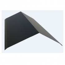 3mt Len 200mmx200mm Slate Grey Ridge Capping