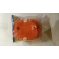 Rubber Knee Pads Orange