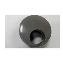 "Soil 4""x50mm Waste Reducer 1 Hole Grey"