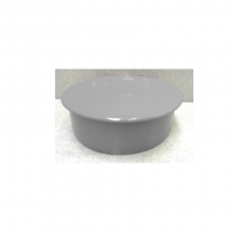 "Soil 4"" Grey Blank Cap"