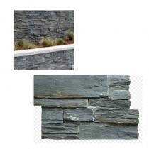 Black Slate Natural Stone Cladding Panel Per Box (0.33m2 Per Box)