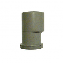 "PVC 50 x 40 Reducer (1 1/2"" x 1 1/4"") Grey Waste Reducer"
