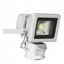 LED Security Floodlight 10W With PIR