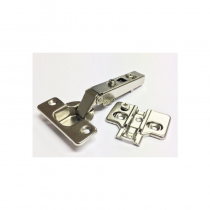110 Degree Clip On Hinge & Plate (2)