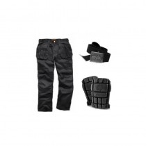 Scruffs Active Trouser Pack 32L (inc Knee Pad/ Belt)