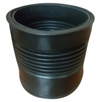 "50mm Soil Strap on Boss Rubber Connector (2"" Insert)"