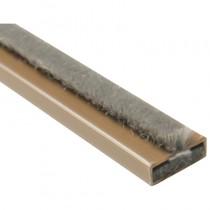 Intumescent Fire & Smoke Strip 15mm x 4mm x 2.1mt Brown